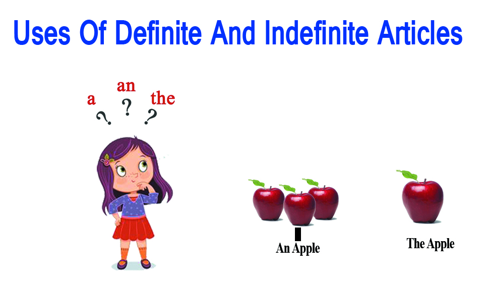 How to Use Definite And Indefinite Articles - Differences