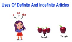 How to Use Definite And Indefinite Articles