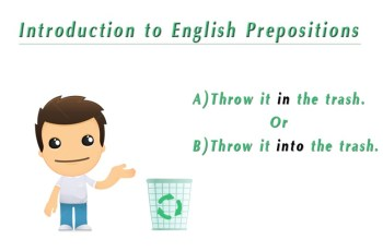 Introduction to English Prepositions