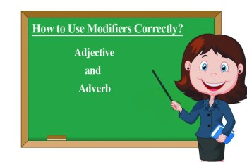 What are Modifiers in English