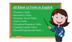 12 kinds of verbs in English