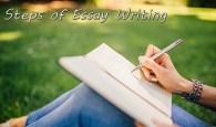 Steps of Essay Writing