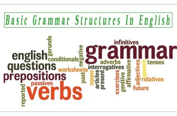 Basic Grammar Structures In English