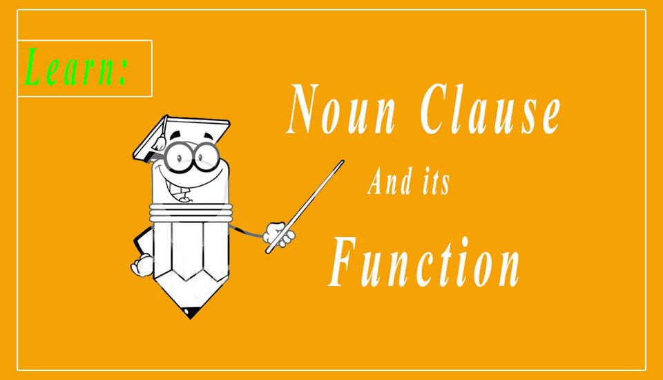 explain noun clause