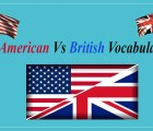 British Versus American Vocabulary