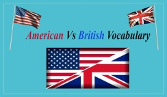 British Versus American Vocabulary