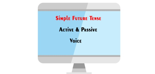 Active and Passive Voice of Simple Future Tense