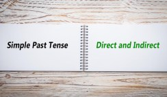 Direct and Indirect of Simple Past Tense