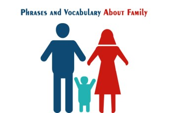 Phrases and Vocabulary About Family