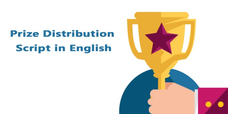 Prize Distribution Script in English