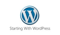 Starting WordPress