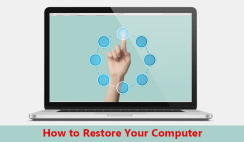How to Restore Your Computer Using System Restore