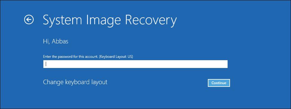 Windows Server Backup Restore windowsserver 2016 Backup