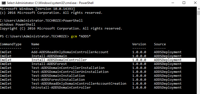 Installing-Uninstalling Existing Domain Controller Using PowerShell