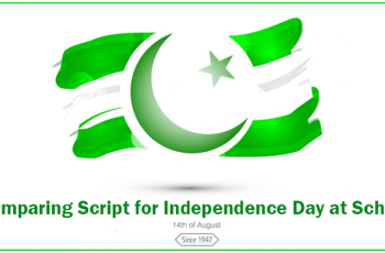 Comparing Script for Independence Day at School