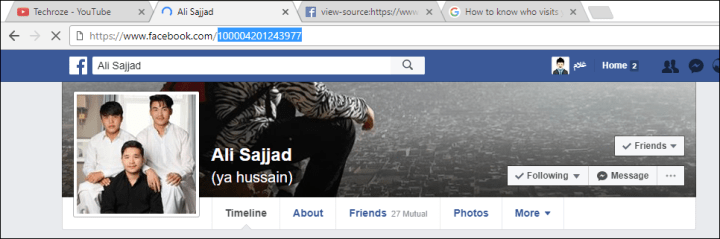 Who Viewed my Facebook Profile?