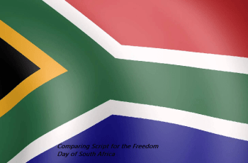 Anchoring Script for the South African Freedom Day