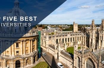 Top Five Best Universities in the World 2018