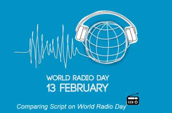 Comparing Script on World Radio Day-13 February