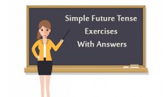 Simple Future Tense Exercises With Answers