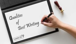What are the Qualities of Best Writing
