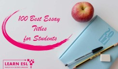 100 Best Essay Titles for Students
