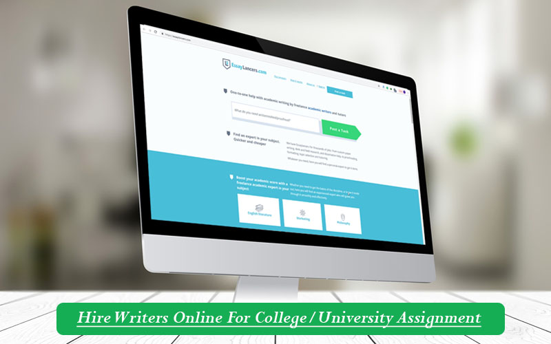 Hire Writers Online For College/University Assignment