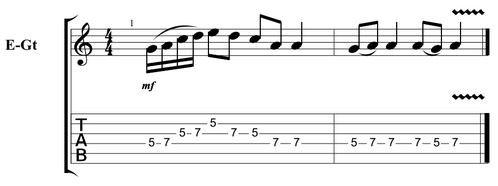 Easy guitar licks 11