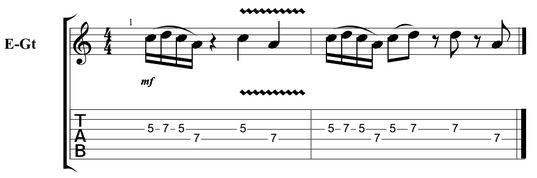 Easy guitar licks 13