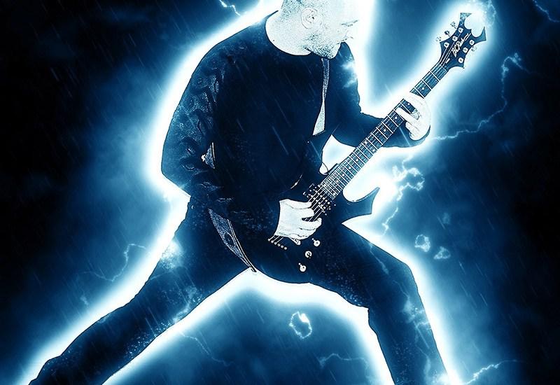 Electric guitar riffs