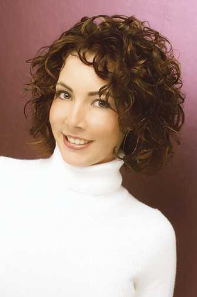 Image Result For Short Permed Hairstyles For Over