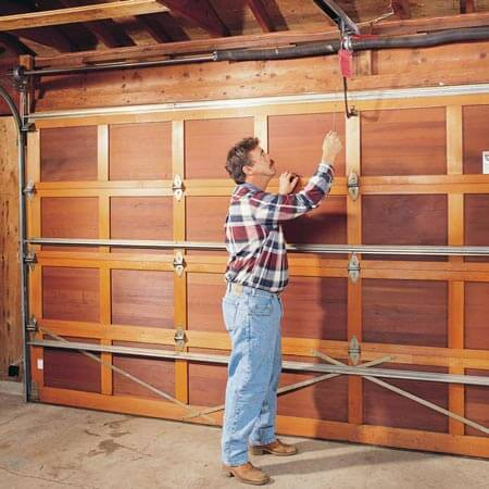 How To Raise A Garage Door With A Broken Spring Learn How To