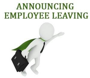 Employee Termination Announcement