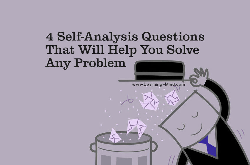 self-analysis questions