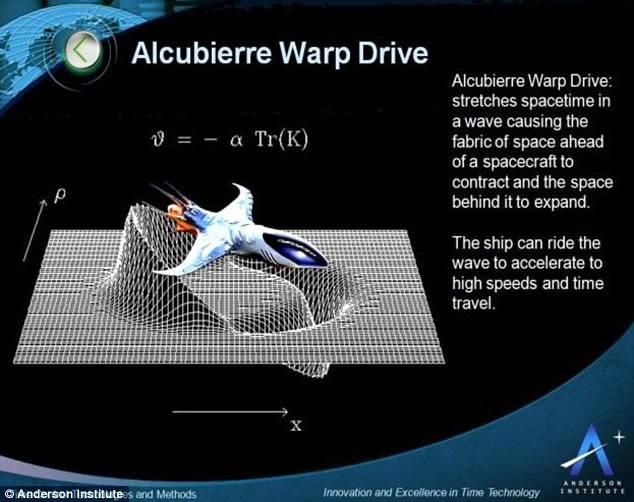 alcubierre warp drive