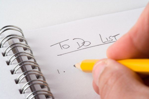 Making a To-Do List