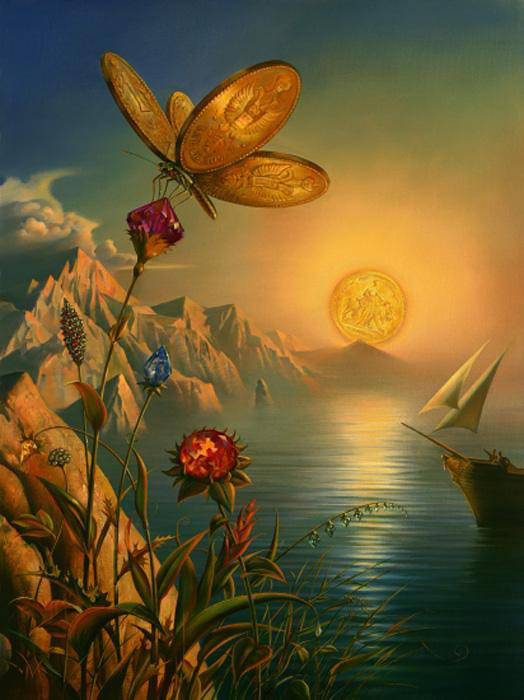 Incredible Surreal Paintings by Vladimir Kush