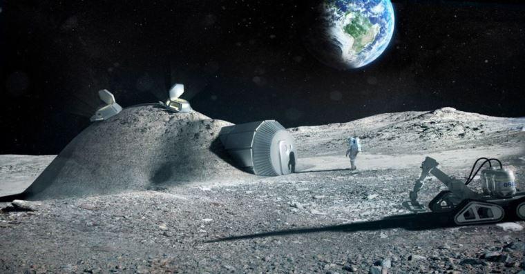 lunar lava tubes