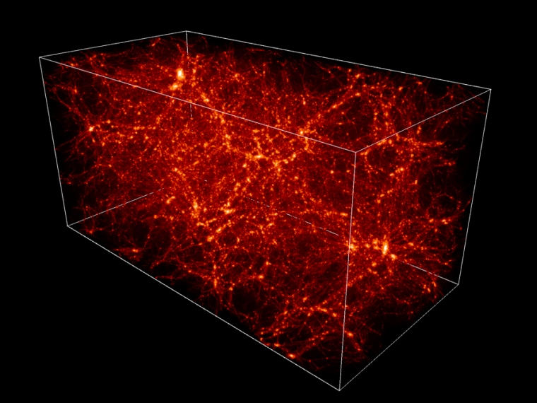 dark matter holds the universe together