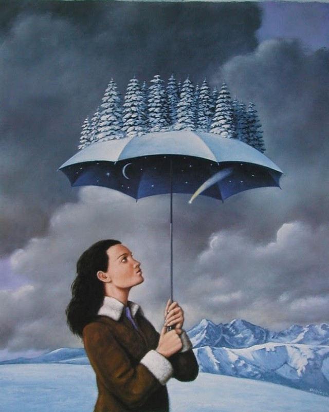 Rafal Olbinki dreamlike artworks