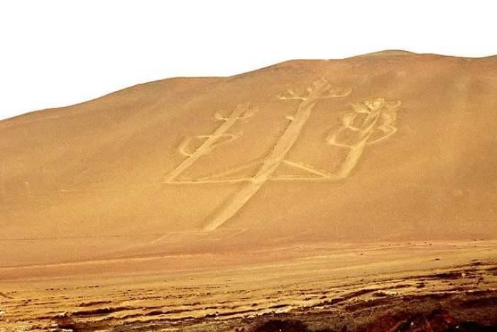 Paracas Candelabra geoglyphs