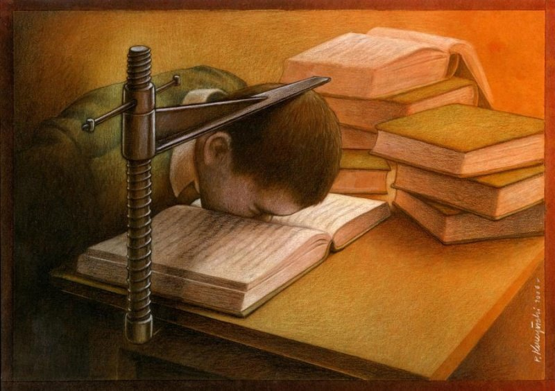 Satirical Illustrations By Pawel Kuczynski Show What S Wrong With