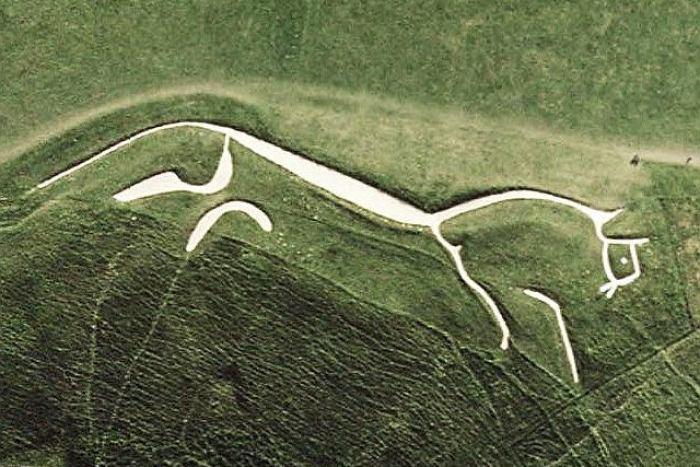 Uffington White Horse geoglyphs