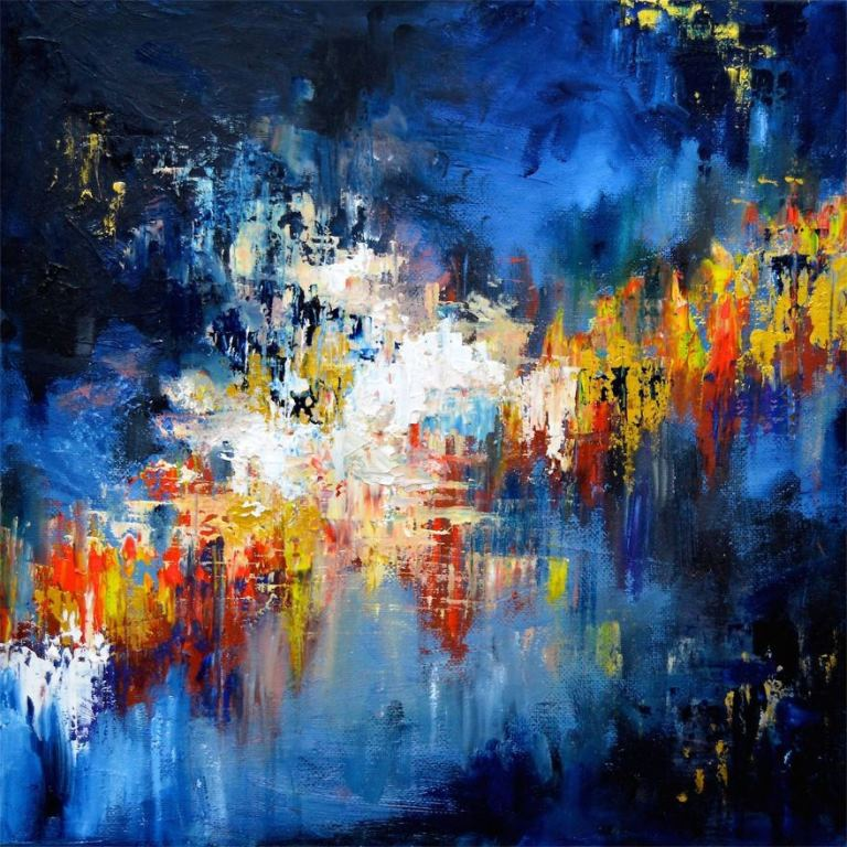 artist with synesthesia gravity