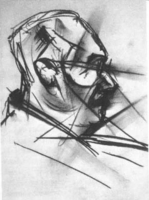 nine drawings experiment