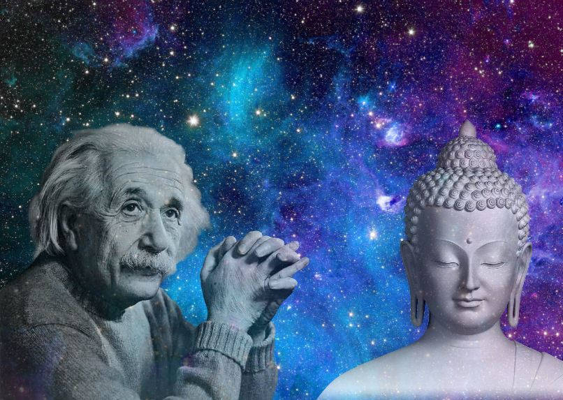 einstein and buddha spiritual science