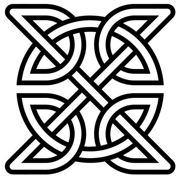celtic astronomy symbols x motif