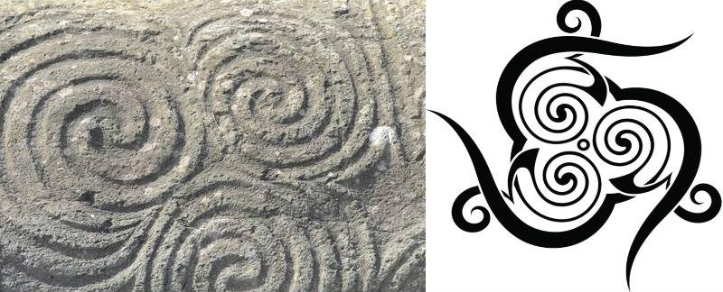 celtic astronomy symbols sun