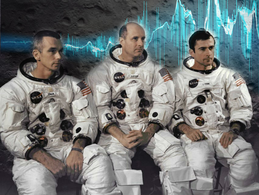 space music apollo 10