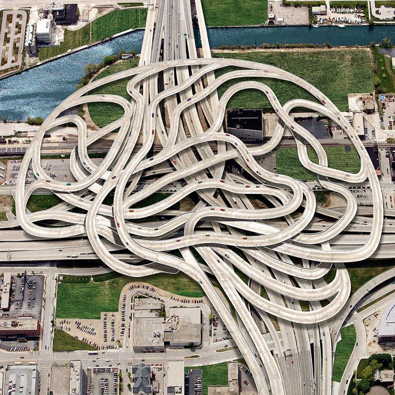 surreal illustrations igor morski road